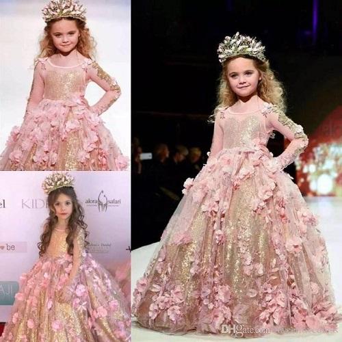 ebf4f3a480 20 Best Girls' Party Wear Frocks & Dresses Designs for Wedding ...